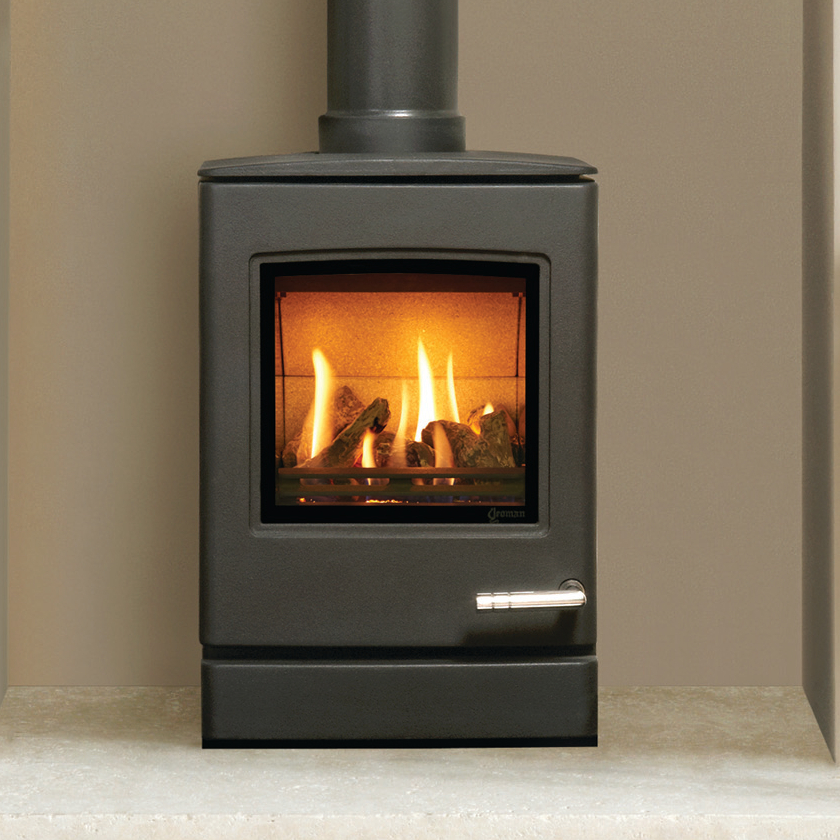 Yeoman Cl3 Lpg Gas Stove Balanced Flue Rear Exit Only In