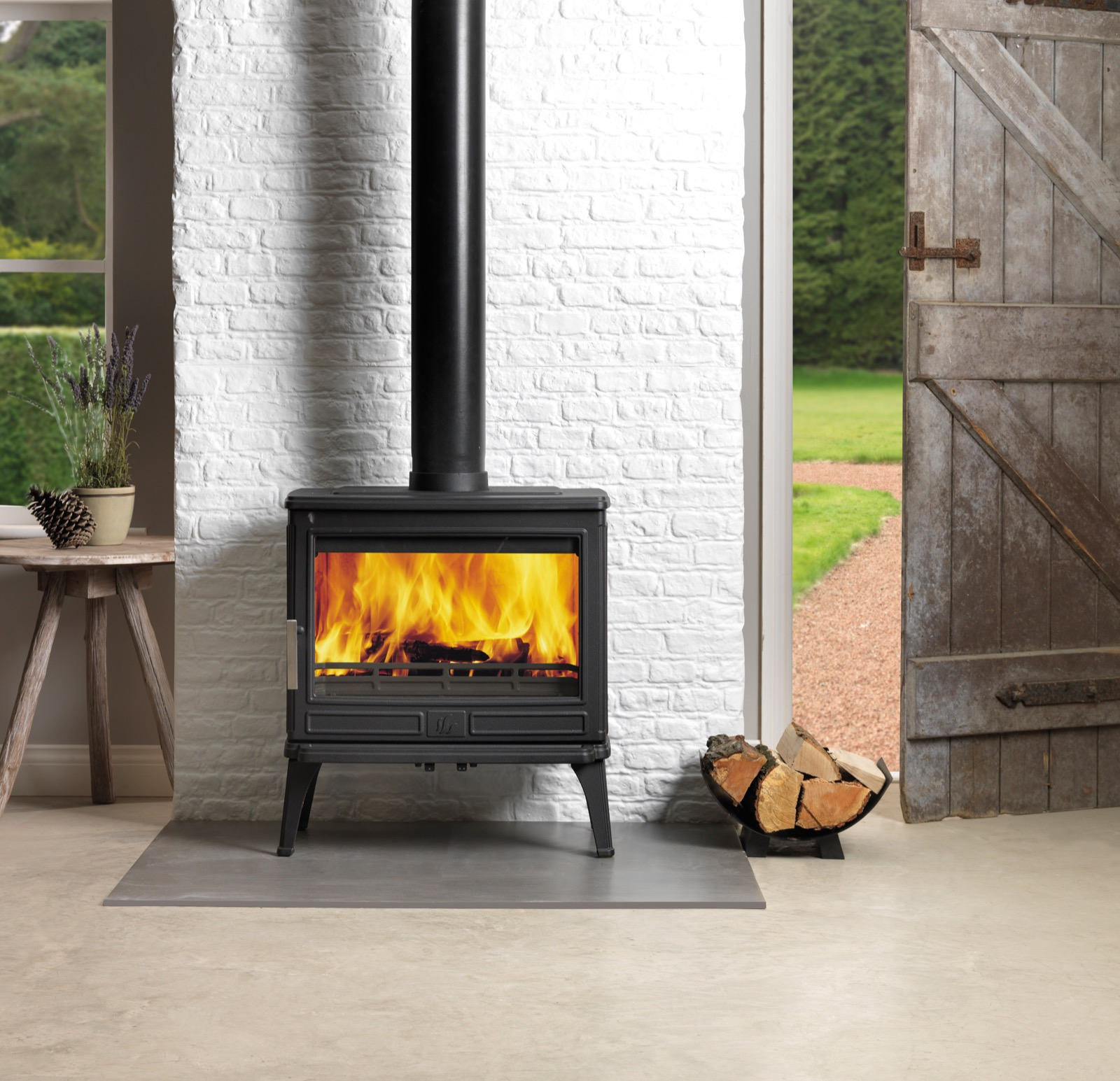 Acr Larchdale 9kw Smoke Exempt Stove Simply Stoves