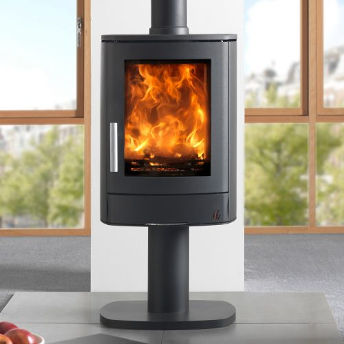 ACR Neo 1P Multifuel Stove with pedestal base