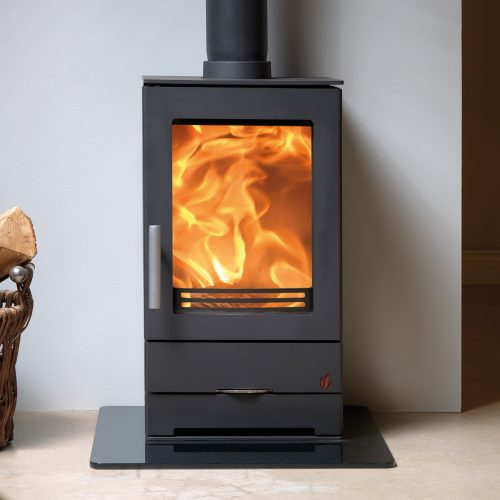 ACR Trinity 1 - Multifuel Stove with single glass panel