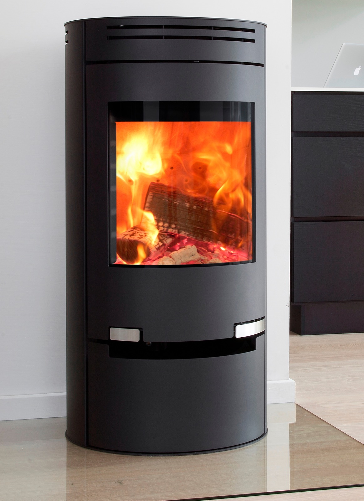 Aduro 1 1 Wood Burning Stove With Drawer Simply Stoves
