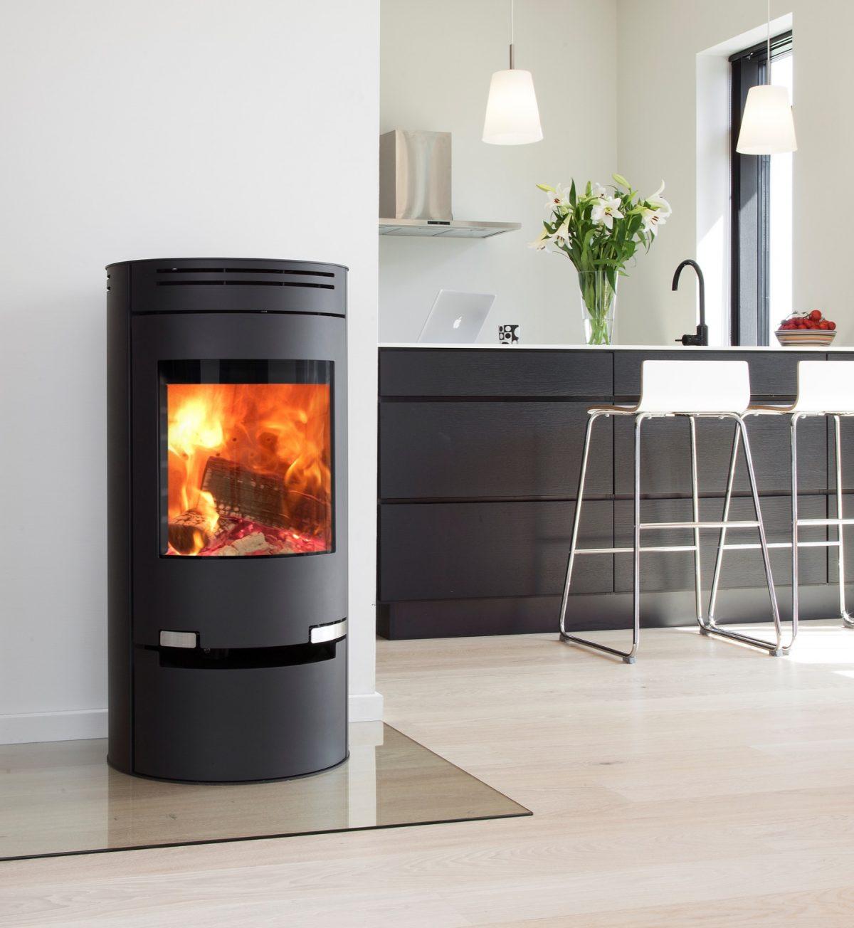 ADURO 1-1  Wood Burning Stove with drawer