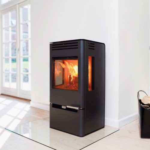 ADURO 7-1 Wood Burning Stove with drawer