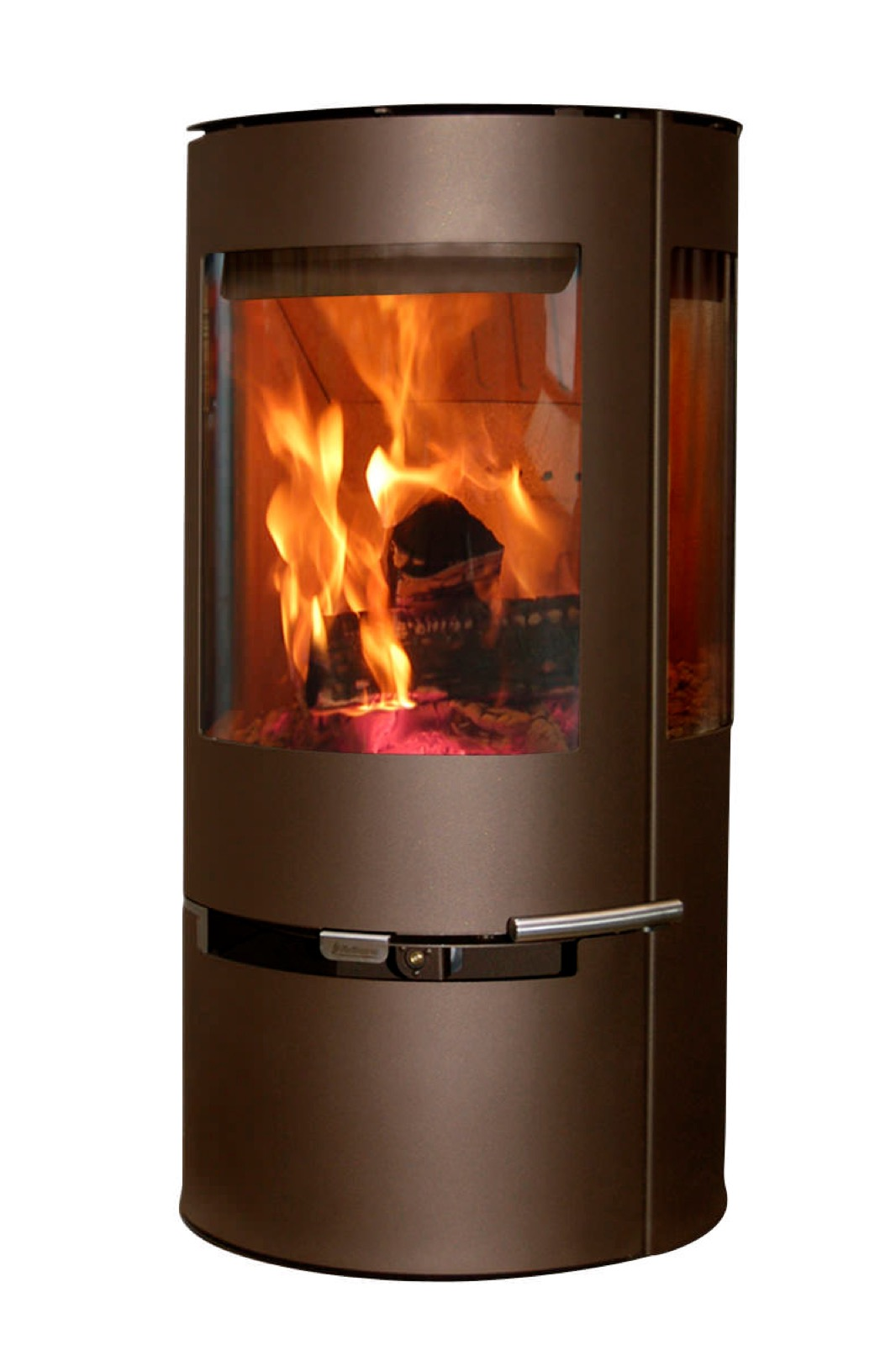 Aduro 9 Defra Approved Wood Burning Stove In Metallic