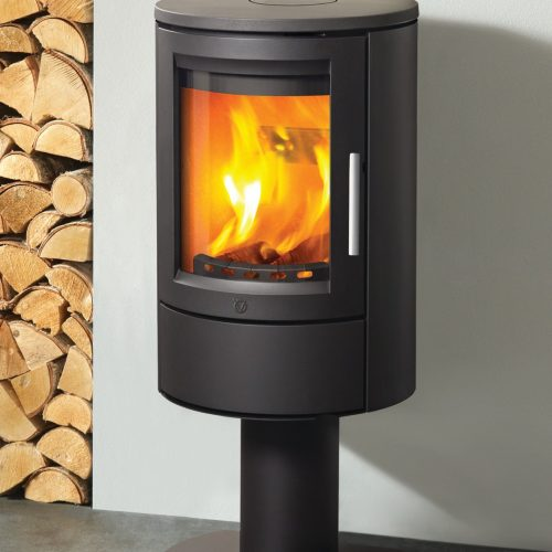 Varde Ovne Aura 11 Wood Burning Stove with Pedestal