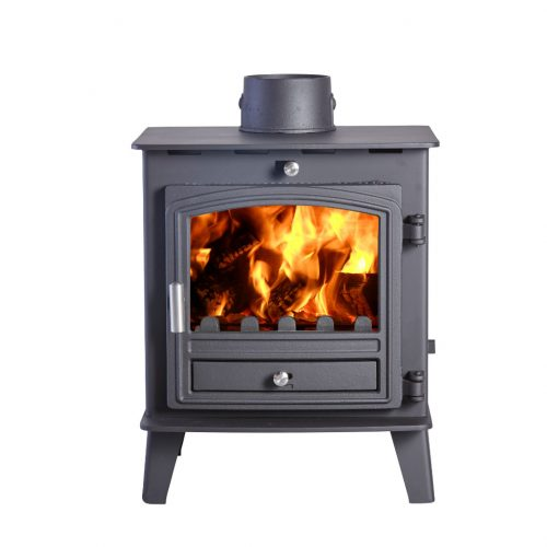 Avalon 4 Defra Approved Wood Burning Stove with Stainless Steel handle