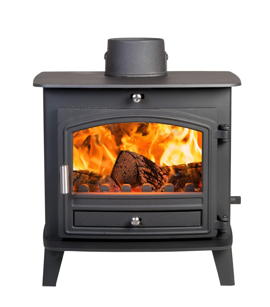 Avalon 6 Defra Approved Woodburning Stove With A Stainless