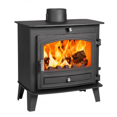 Avalon 5 Slimline Defra Aprroved Multifuel Stove with Stainless Steel handle