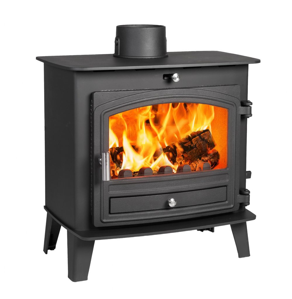 Avalon 5 Slimline Defra Approved Woodburning Stove With A