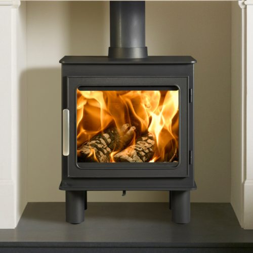 Nordpeis Bergen Wood Burning Stove with Smoke Control Kit as standard