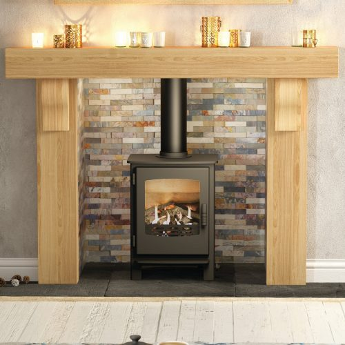 Broseley Evolution Desire 5 Conventional Flue Natural Gas Stove with Remote Control