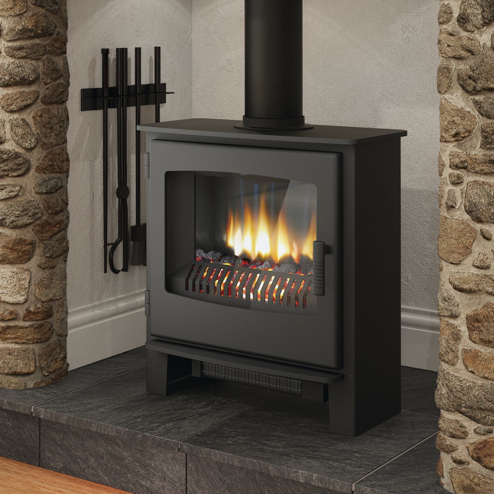 Electric Wood Stove ~ Broseley evolution desire electric stove simply stoves