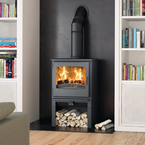 Broseley Evolution Desire 7 Multifuel Stove with Logstore
