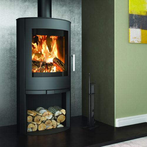 Broseley Evolution Flair 8 Wood Burning Stove with Logstore