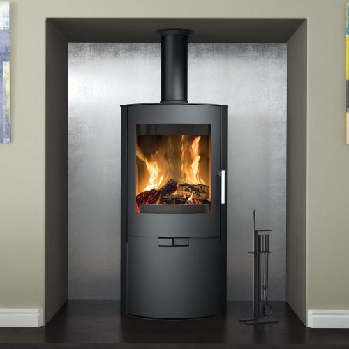 Broseley Evolution Flair 8 Wood Burning Stove with Logstore Door
