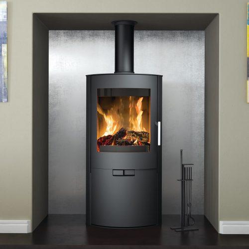 Broseley Evolution Flair 8 Wood Burning Stove with Logstore Door