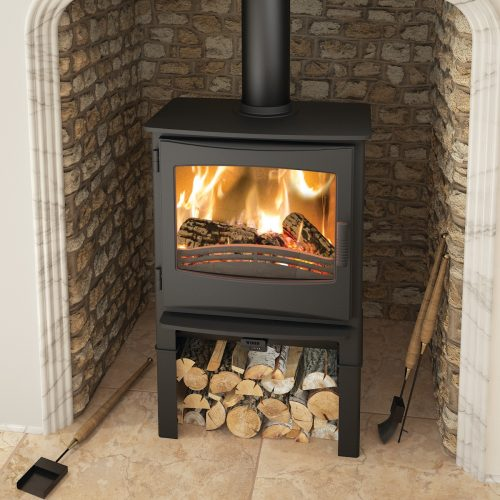 Broseley Evolution Ignite 7 Multifuel Stove with Logstore