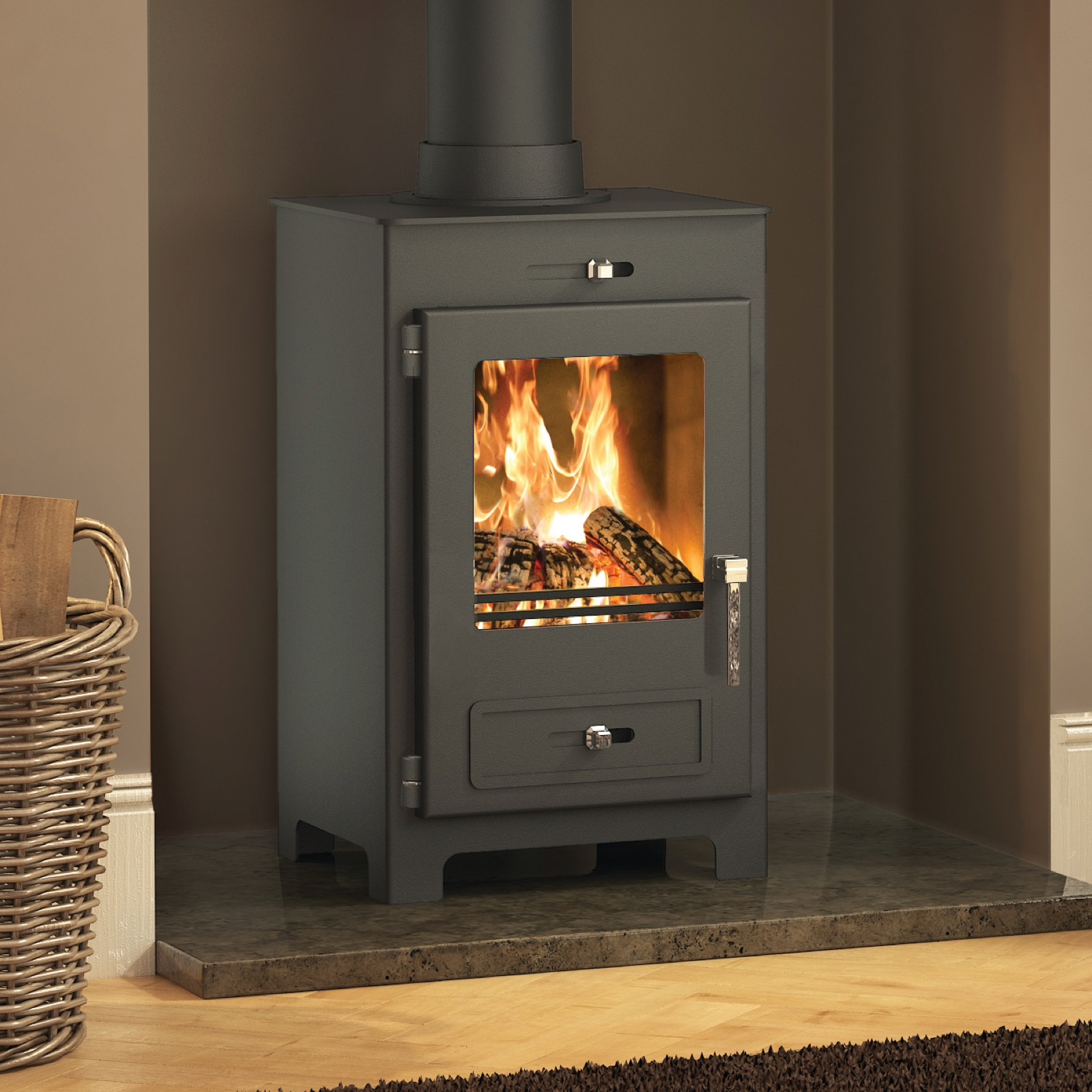 broseley silverdale 5 se wood burning stove - simply stoves