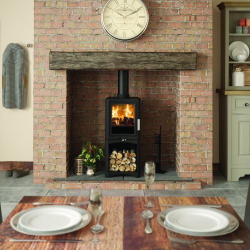 wood burner stove setting ideas images