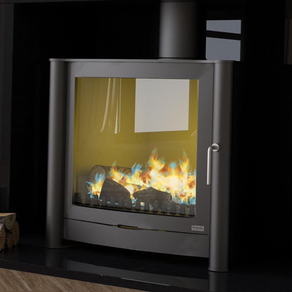 Firebelly FB2 Double Door Gas Stove