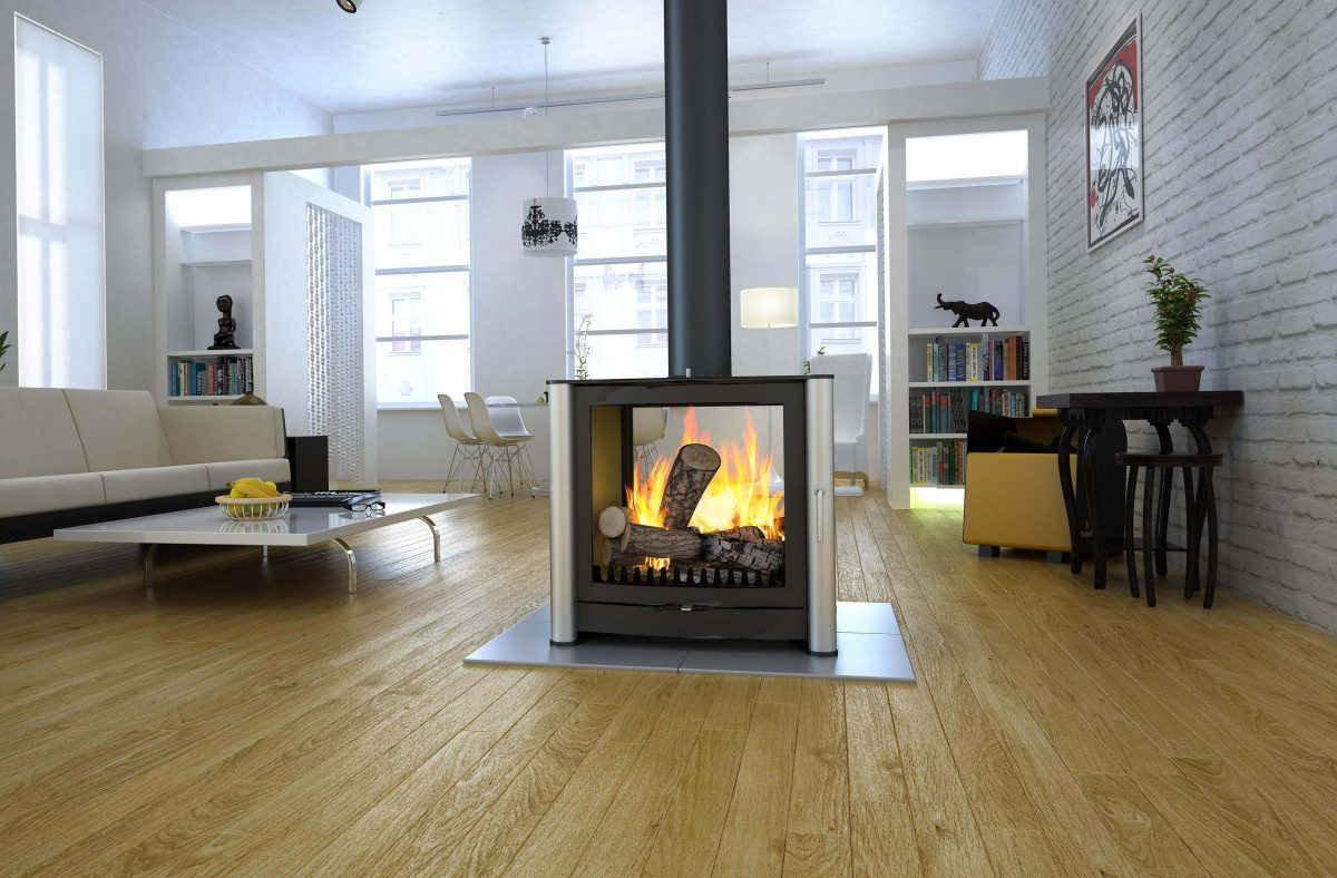 Firebelly Fb3 Double Sided Wood Burning Stove Simply Stoves