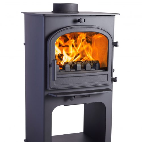 Claeanburn Løvenholm Euro Single Door  Multifuel Stove