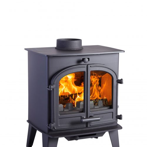 Cleanburn Løvenholm Double Door Multifuel  stove