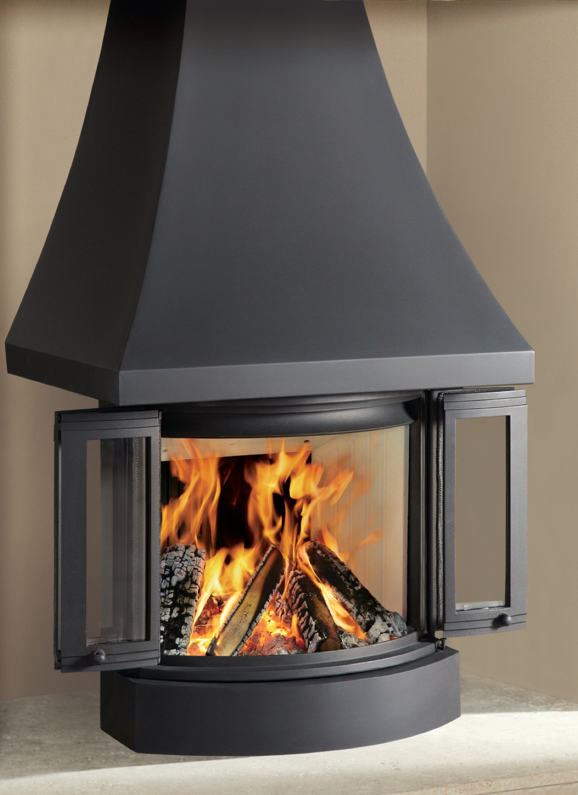 Canopy For Nordpeis Ni 22 Wood Burning Insert Fire