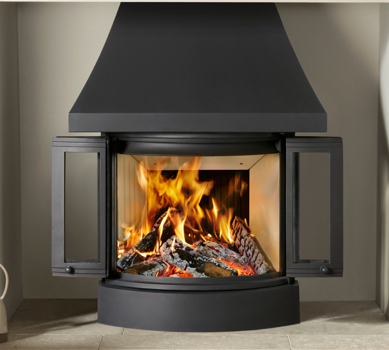 Canopy For Nordpeis Ni 25 Wood Burning Insert Fire