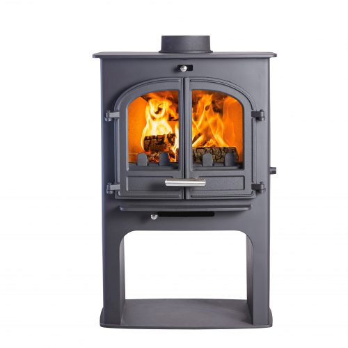 Cleanburn Nørreskoven Euro Double Door Multifuel Stove