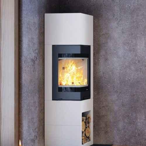 Nordpeis Odense Surround, complete with Nordpeis S-31A Wood Burning Insert Fire
