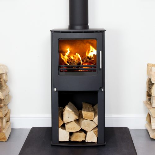 Westfire Series One Multi Fuel Stove with Wood Store