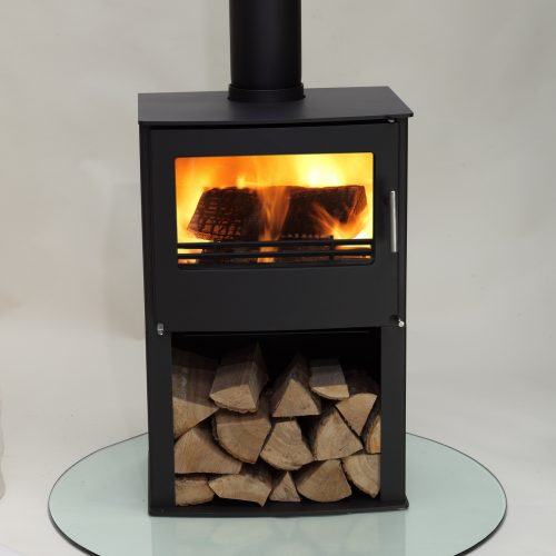 Westfire Series Two Multi Fuel Stove with Wood Store