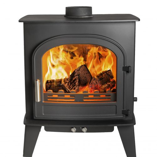 Cleanburn Skagen 5 Defra Approved* Single Door  Multifuel Stove