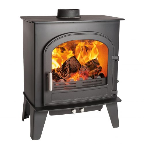 Cleanburn Skagen 6 Defra Approved* Single Door  Multifuel Stove