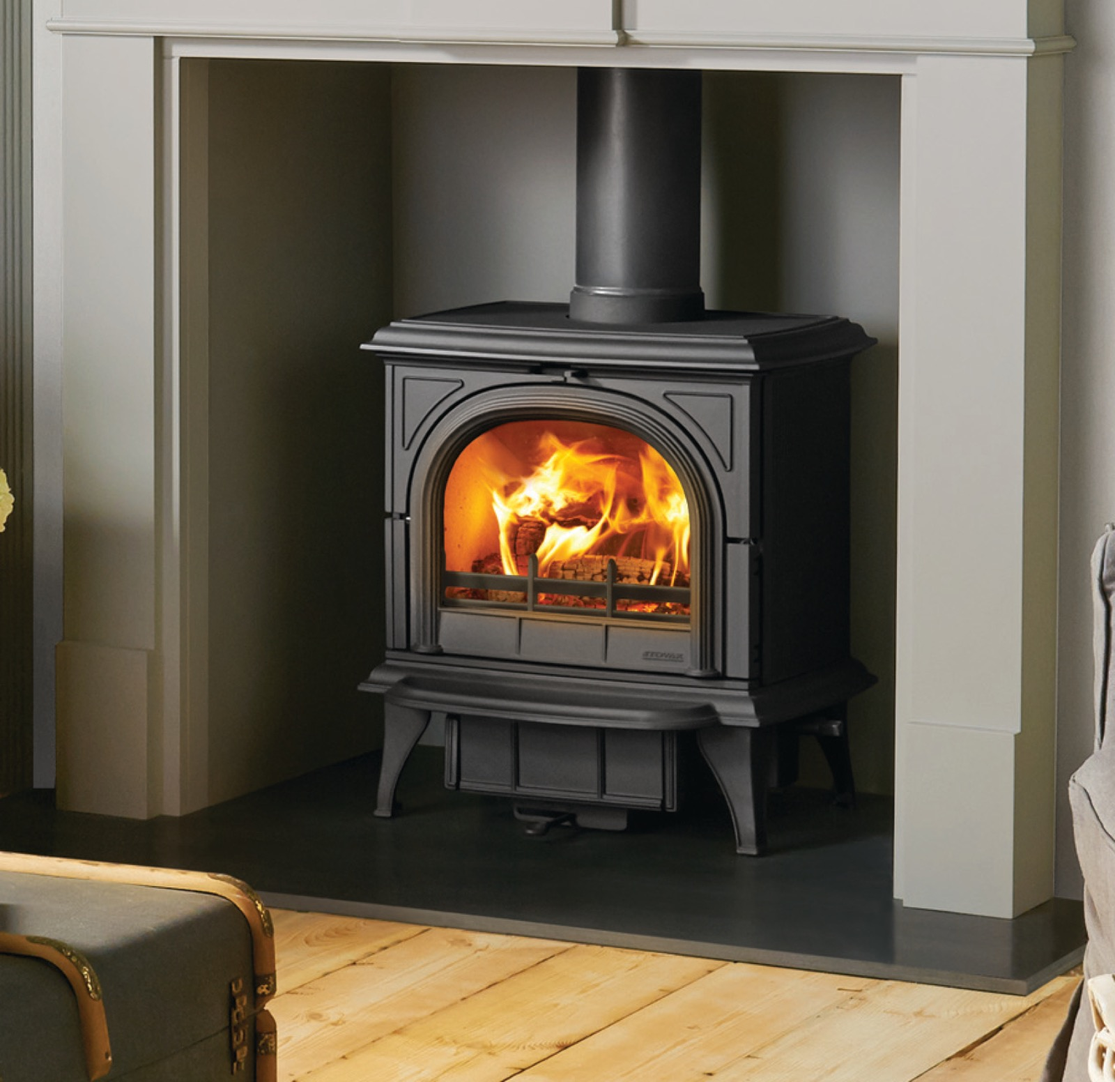 Stovax Huntingdon 30 Multifuel Stove With Clear Door