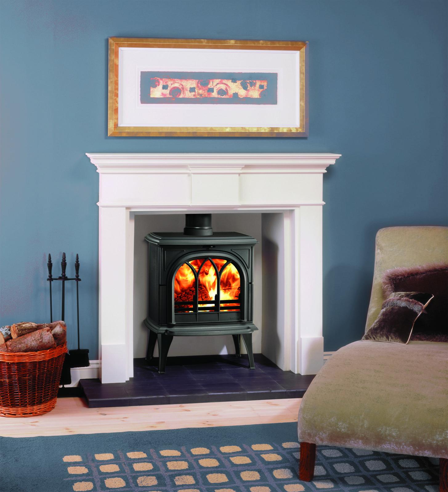 Stovax Huntingdon 35 Wood Burning Stove With Tracery Door