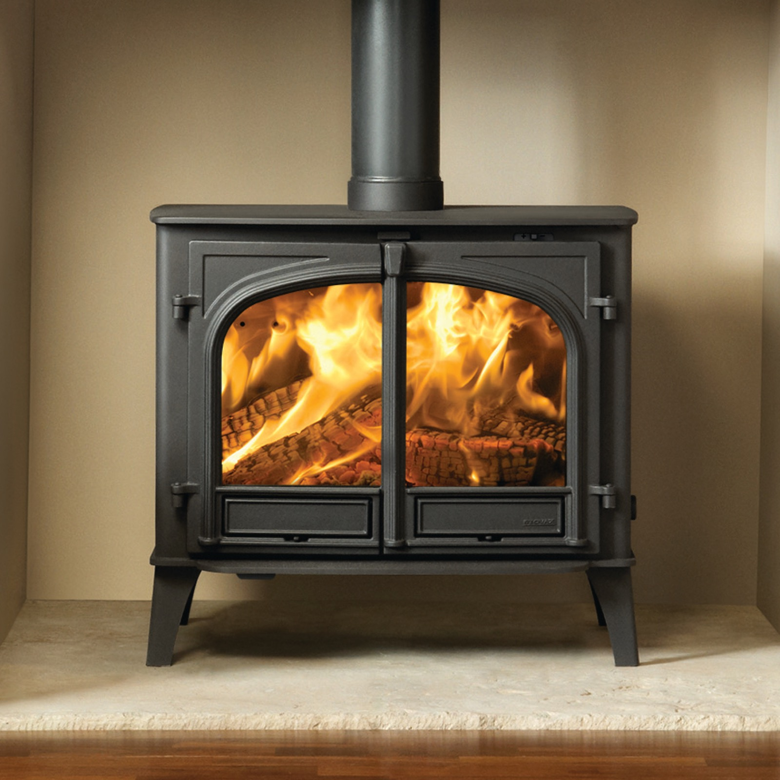 Stovax Stockton 14 Wood Burning Two Door Stove Simply Stoves