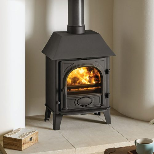 Stovax Stockton 5 Multifuel Stove with Low Canopy