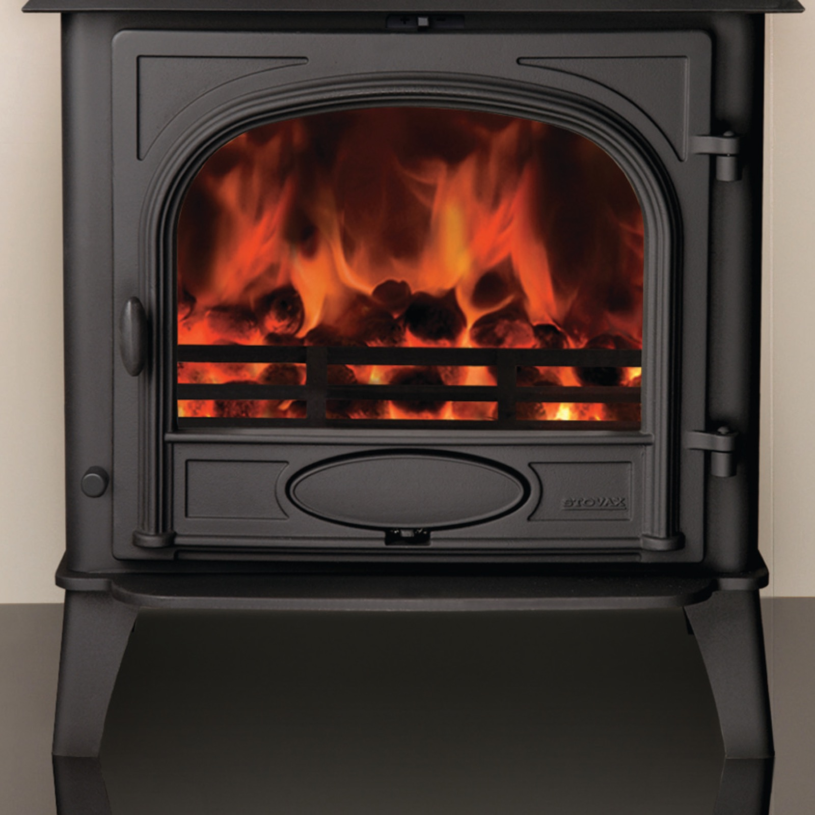 Stovax Stockton 8 Wood Burning Single Door Stove Simply