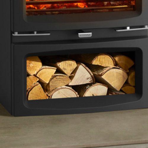 Stovax Vogue Medium Wood Burning Stove Midline Base