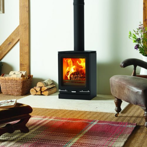 Stovax Vogue Small Wood Burning Stove with Cast Iron Top Plate