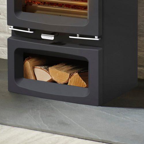 Stovax Vogue Small Wood Burning Stove Midline Base
