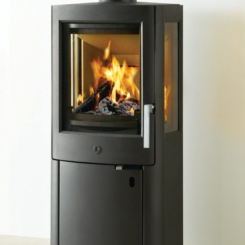 Varde Ovne Uniq 1 Wood Burning Stove with Low Base