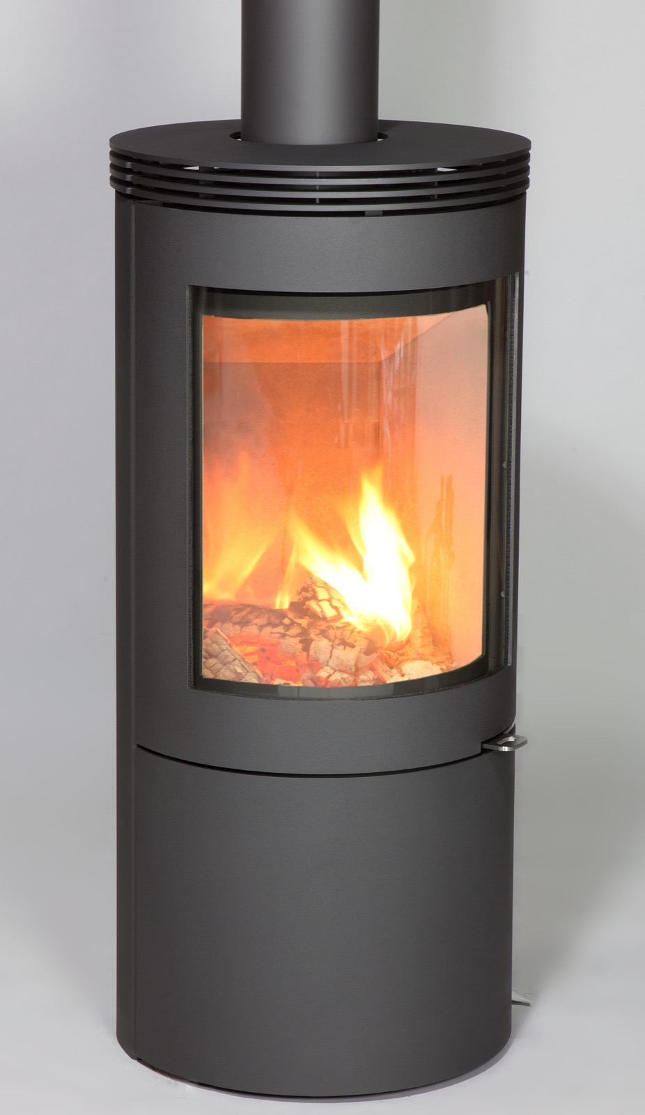 Westfire Uniq 27 Convection Wood Burning Stove In Grey