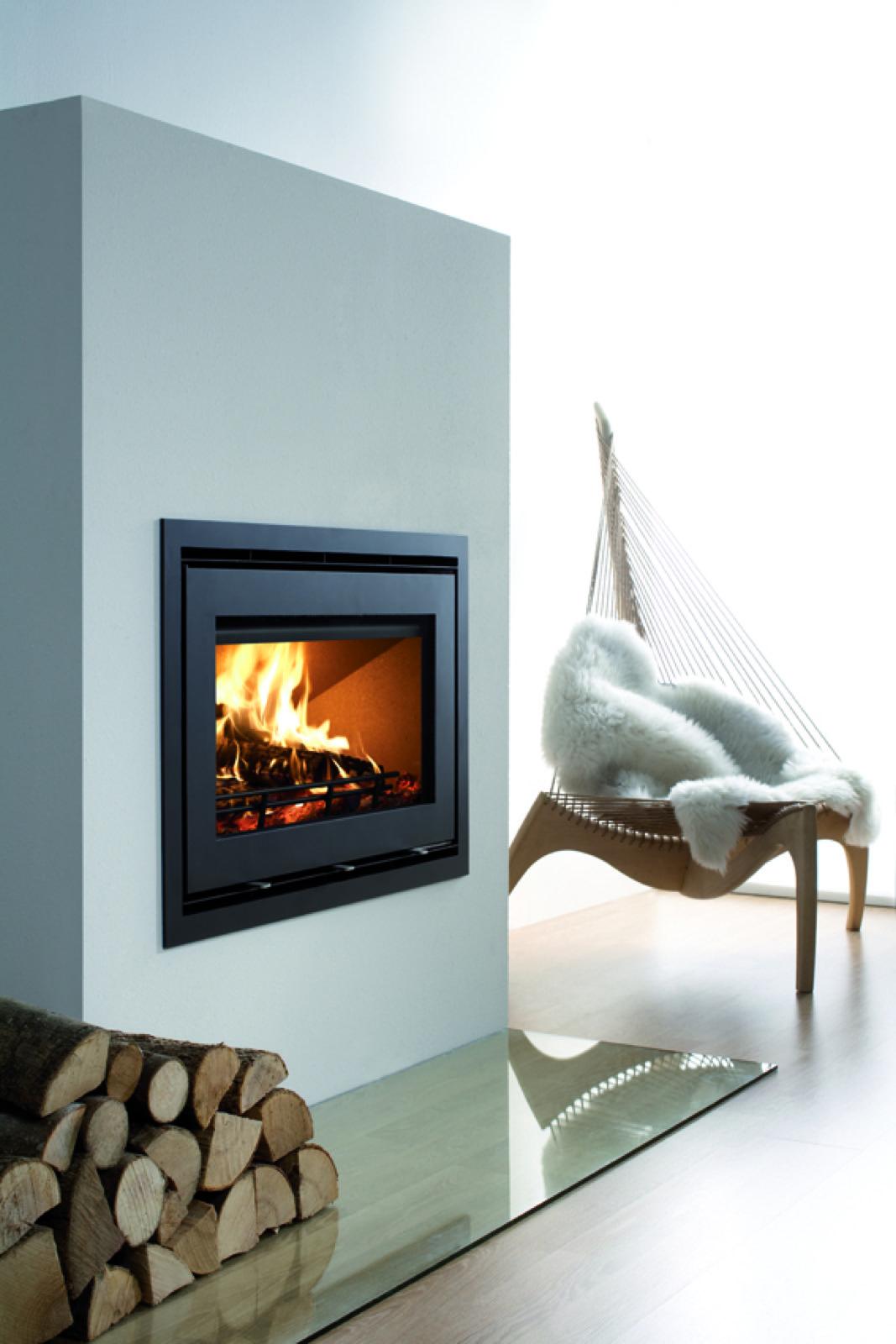 Westfire Uniq 32 Se Inset Wood Burning Stove With Narrow