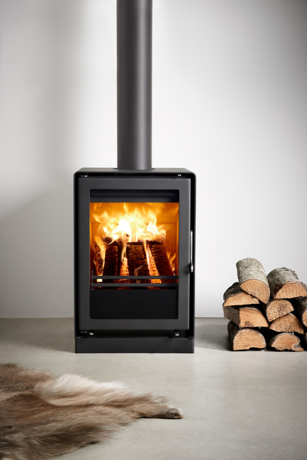 Westfire Uniq 35 Se Convection Wood Burning Stove With