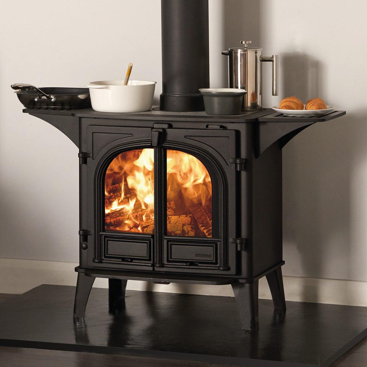 Stovax Stockton 8 Double Door Wood Burning Cook Stove